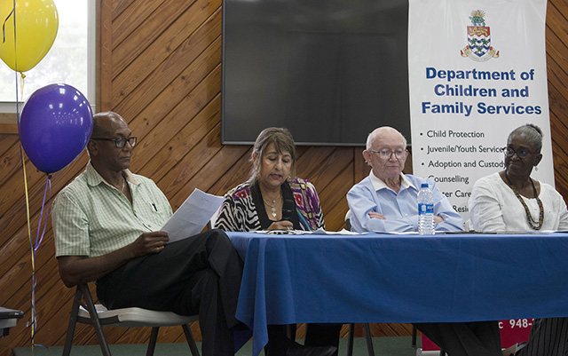 How the community and seniors can advance positive aging were discussed during OPM's panel discussion.